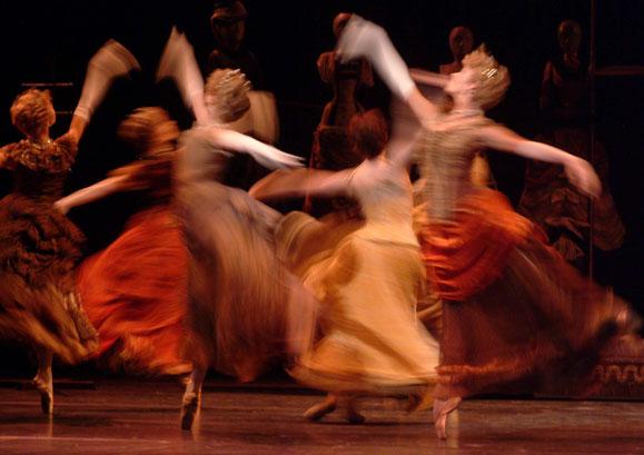 Blurred-ballet